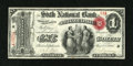 National Bank Notes:Pennsylvania, Philadelphia, PA - $1 Original Fr. 380 The Sixth NB Ch. # 352. ...