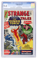 Silver Age (1956-1969):Superhero, Strange Tales #118 Slobodian pedigree (Marvel, 1964) CGC NM 9.4White pages....