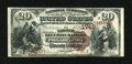 National Bank Notes:Pennsylvania, Philadelphia, PA - $20 1882 Brown Back Fr. 498 The NationalSecurity Bank Ch. # (E)1743. ...