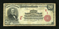 National Bank Notes:Pennsylvania, Philadelphia, PA - $20 1902 Red Seal Fr. 639 The First NB Ch. # (E)1. ...