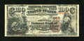 National Bank Notes:Pennsylvania, Philadelphia, PA - $100 1882 Brown Back Fr. 520 The Western NB Ch.# 656. ...