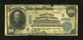 National Bank Notes:Pennsylvania, Philadelphia, PA - $100 1902 Date Back Fr. 691 The Market Street NBCh. # (E)3684. ...