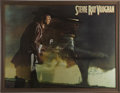 Music Memorabilia:Posters, Stevie Ray Vaughan and Double Trouble Signed Jumbo Poster....