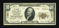 National Bank Notes:Pennsylvania, Numidia, PA - $10 1929 Ty. 2 The Valley NB Ch. # 11981. ...