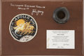 Explorers:Space Exploration, Apollo 13 Flown Optical Eyepiece Directly from the PersonalCollection of Backup Mission Commander John Young, Certified andS...