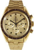 Explorers:Space Exploration, John Young's Personal 18K Gold Omega Speedmaster Professional Chronograph as Presented to Him in 1969 by the Omega Watch Compa...