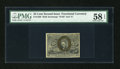 Fractional Currency:Second Issue, Fr. 1286 25¢ Second Issue PMG Choice About Unc 58 EPQ....
