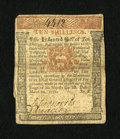 Colonial Notes:Pennsylvania, Pennsylvania March 20, 1771 10s Extremely Fine....