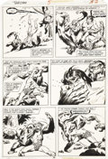 Original Comic Art:Panel Pages, John Buscema and Tony DeZuniga Tarzan #5, page 30 OriginalArt (Marvel, 1977)....