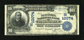 National Bank Notes:Missouri, Springfield, MO - $10 1902 Date Back Fr. 620 The McDaniel NB Ch. #(M)10074. ...