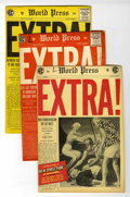 Golden Age (1938-1955):Adventure, Extra! #1-4 Group (EC, 1955).... (Total: 4 Comic Books)