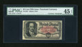Fractional Currency:Fifth Issue, Courtesy Autographed Fr. 1381 50c Fifth Issue PMG Choice ExtremelyFine 45 EPQ....