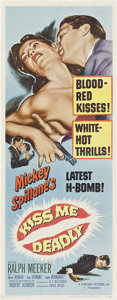 """Movie Posters:Film Noir, Kiss Me Deadly (United Artists, 1955). Insert (14"""" X 36"""").. ..."""