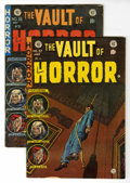 Golden Age (1938-1955):Horror, Vault of Horror #36 and 37 Group (EC, 1954).... (Total: 2 ComicBooks)