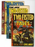 Golden Age (1938-1955):War, Two-Fisted Tales #35, 38, and 40 Group (EC, 1953-55).... (Total: 3Comic Books)