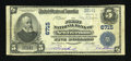 National Bank Notes:Pennsylvania, New Freedom, PA - $5 1902 Plain Back Fr. 598 The First NB Ch. #6715. ...