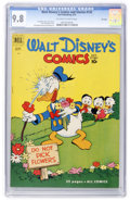 Golden Age (1938-1955):Cartoon Character, Walt Disney's Comics and Stories #132 - File Copy (Dell, 1951) CGC NM/MT 9.8 Off-white to white pages....