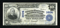 National Bank Notes:Pennsylvania, Philadelphia, PA - $10 1902 Plain Back Fr. 626 The Manayunk-QuakerCity NB Ch. # 3604. ...