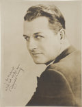 Movie/TV Memorabilia:Autographs and Signed Items, Reginald Denny Signed Photo....