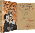 Movie/TV Memorabilia:Autographs and Signed Items, Ray Milland, Ginger Rogers, and Others Signed Lady In theDark Book....