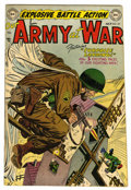 Golden Age (1938-1955):War, Our Army at War #24 (DC, 1954) Condition: FN/VF....