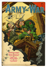 Our Army at War #28 (DC, 1954) Condition: VF
