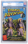 Golden Age (1938-1955):Science Fiction, Strange Adventures #1 Crowley Copy pedigree (DC, 1950) CGC VF/NM9.0 Cream to off-white pages....