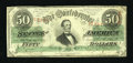Confederate Notes:1863 Issues, T57 $50 1863 PF-1, Cr. 406.. ...