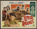 "The Little Rascals (Monogram, R-1950s). Title Lobby Card (11"" X 14"") ""Hook and Ladder"". Comedy"