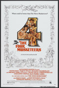 "Movie Posters:Adventure, The Four Musketeers (20th Century Fox, 1975). One Sheets (2) (27"" X41"") Styles A and B, Lobby Cards (2) (11"" x 14""). Advent... (Total:4 Items)"