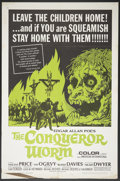 """Movie Posters:Horror, The Conqueror Worm (American International, 1968). One Sheet (27"""" X 41""""). Horror.. ..."""