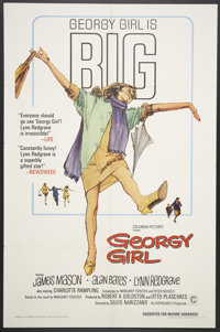 "Georgy Girl (Columbia, 1966). One Sheet (27"" X 41""). Comedy"