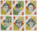Baseball Cards:Sets, 1951 Topps Baseball Red Backs Near Set (48/52) Plus Zernial Variation. ...
