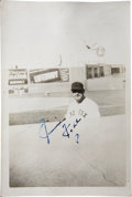 Autographs:Others, Circa 1941 Boston Red Sox Signed Photographs with Foxx (3),Williams....