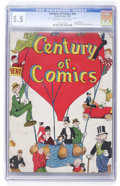 Golden Age (1938-1955):Humor, Century of Comics #nn (Eastern Color, 1933) CGC FN- 5.5 Off-white to white pages....
