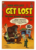 Golden Age (1938-1955):Humor, Get Lost #2 (Mikeross Publications, 1954) Condition: VF+....