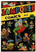 Golden Age (1938-1955):Funny Animal, Jamboree Comics #1 (Round, 1946) Condition: VF/NM....