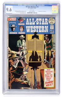 All-Star Western #10 Slobodian pedigree (DC, 1972) CGC NM+ 9.6 White pages