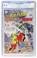 Silver Age (1956-1969):Superhero, The Brave and the Bold #54 Teen Titans - Slobodian pedigree (DC,1964) CGC NM+ 9.6 Off-white to white pages....