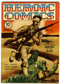 Golden Age (1938-1955):War, Heroic Comics #16 (Eastern Color, 1943) Condition: VF....