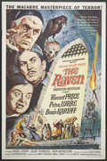 """Movie Posters:Horror, The Raven (American International, 1963). One Sheet (26.75"""" X 41""""). Horror.. ..."""