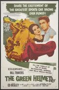 """Movie Posters:Sports, The Green Helmet (MGM, 1961). One Sheet (26.75"""" X 41""""). Sports.. ..."""