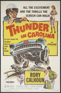 "Movie Posters:Sports, Thunder in Carolina (Howco, 1960). One Sheet (27"" X 41""). Sports.. ..."