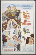 """Movie Posters:Comedy, Snow White and the Three Stooges (20th Century Fox, 1961). One Sheet (27"""" X 41""""). Comedy.. ..."""