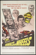 "Movie Posters:Sports, Maniacs on Wheels (Cinemation Industries, 1970). One Sheet (27"" X 41""). Sports.. ..."