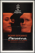 "Movie Posters:Drama, Persona (United Artist, 1967). One Sheet (27"" X 41""). Drama.. ..."