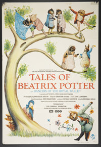 "Tales of Beatrix Potter (Anglo-EMI, Ltd., 1971). One Sheet (27"" X 40""). Family"