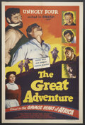 """Movie Posters:Adventure, The Great Adventure (Lippert, R-1951). One Sheet (27"""" X 41"""").Adventure.. ..."""