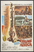 "Movie Posters:Adventure, Drums of Africa Lot (MGM, 1963). One Sheets (2) (27"" X 41"").Adventure.. ... (Total: 2 Items)"