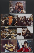 "Movie Posters:Rock and Roll, Celebration at Big Sur (20th Century Fox, 1971). Lobby Cards (7)(11"" X 14""). Rock and Roll. Starring Joan Baez, David Crosb...(Total: 7)"